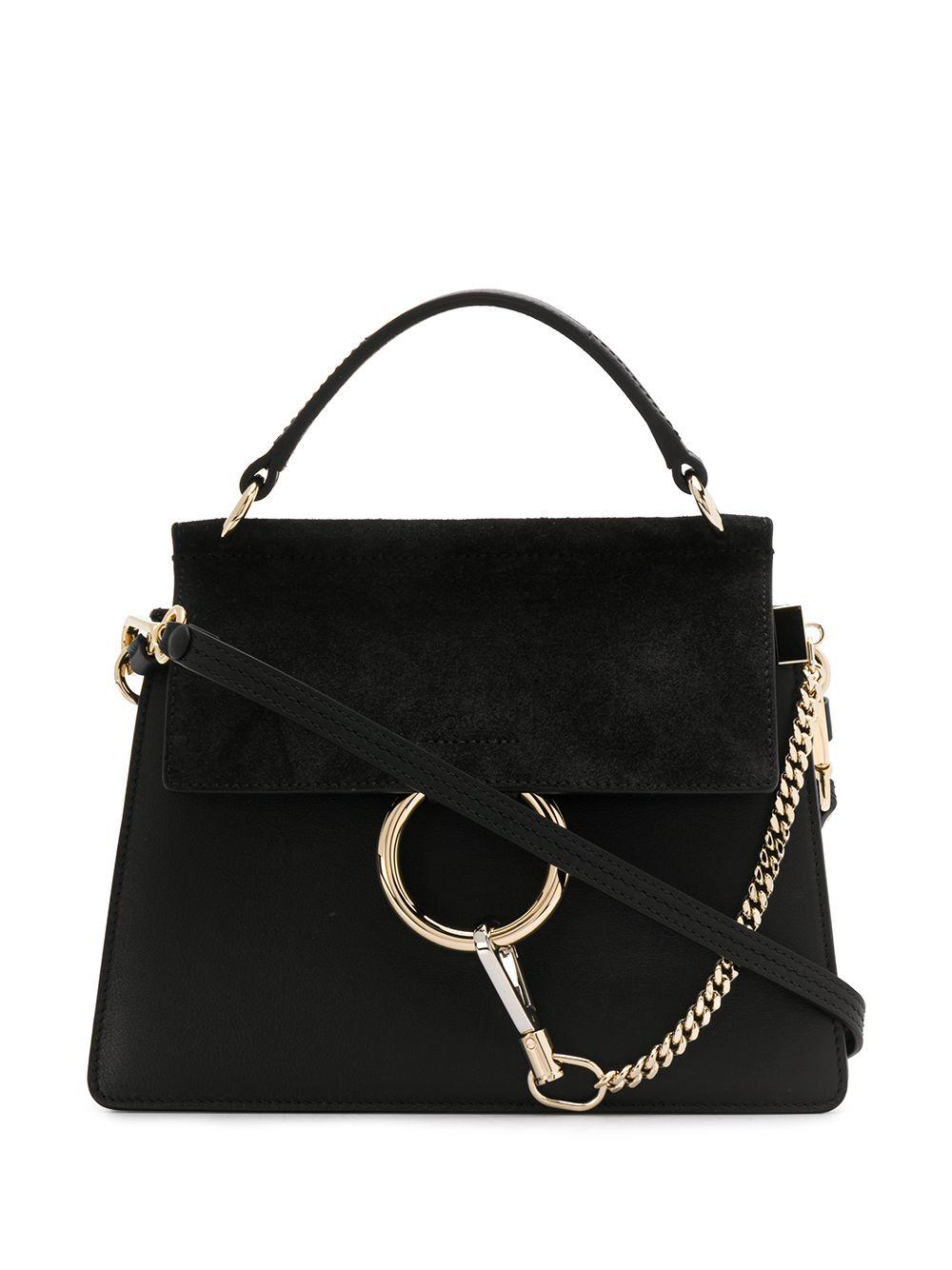 Faye Leather Small Crossbody Bag