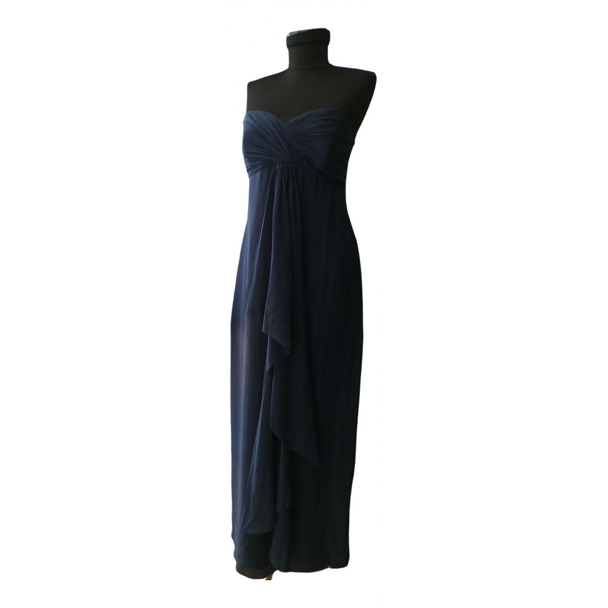 Coast \N Navy Silk dress for Women 38 FR