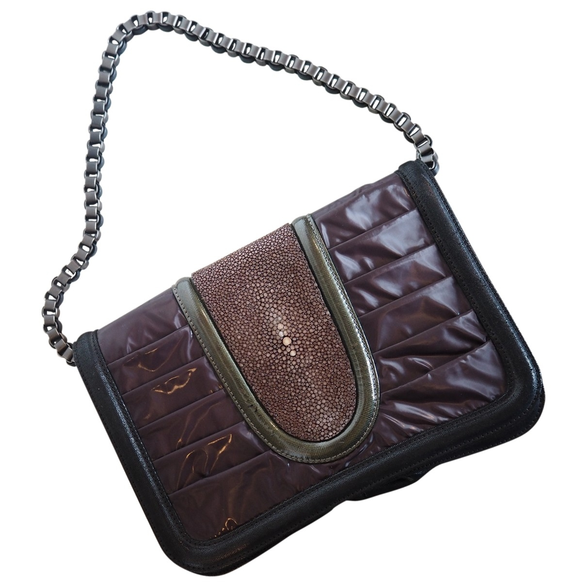 Pauric Sweeney \N Burgundy Stingray handbag for Women \N