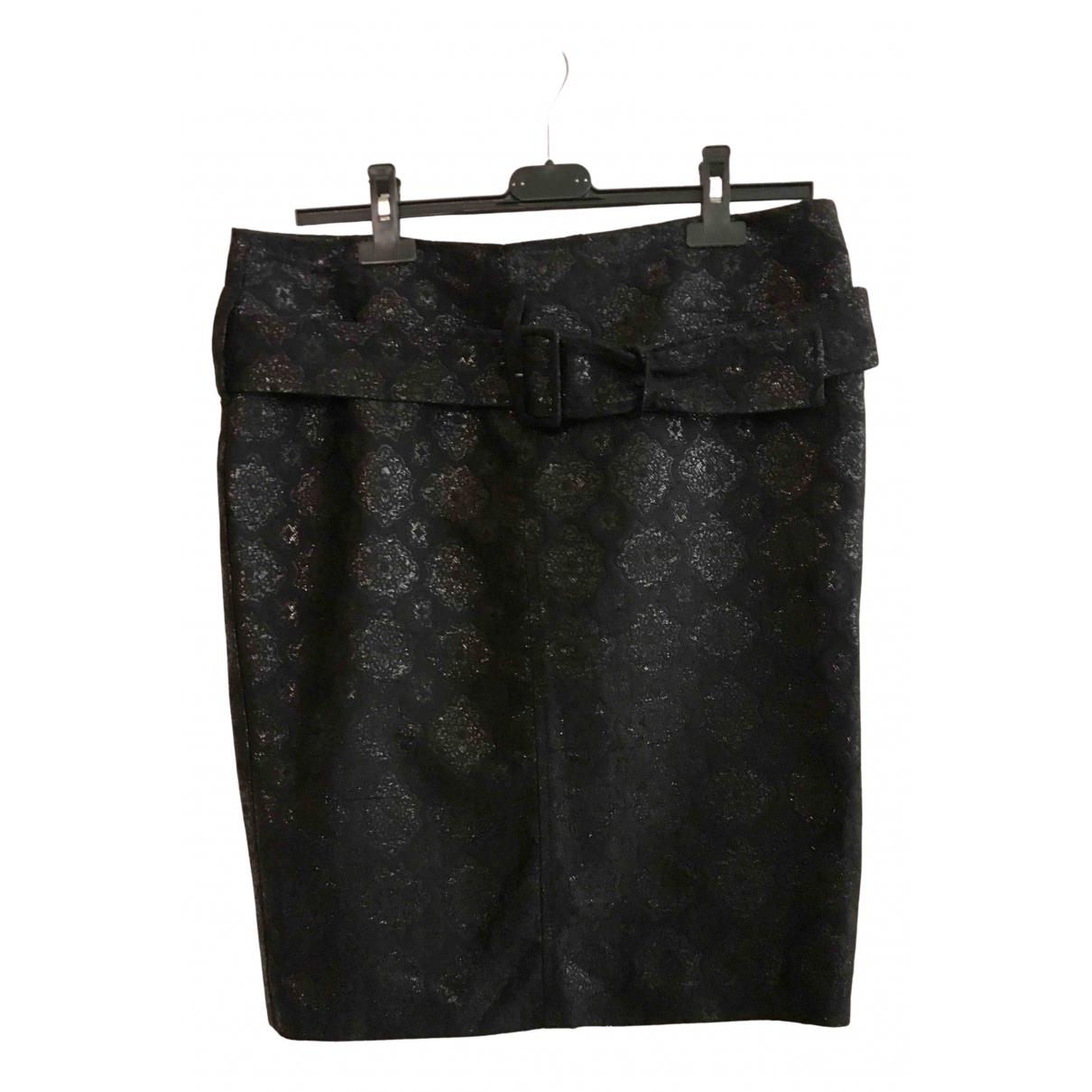 Prada N Black Silk skirt for Women 44 IT