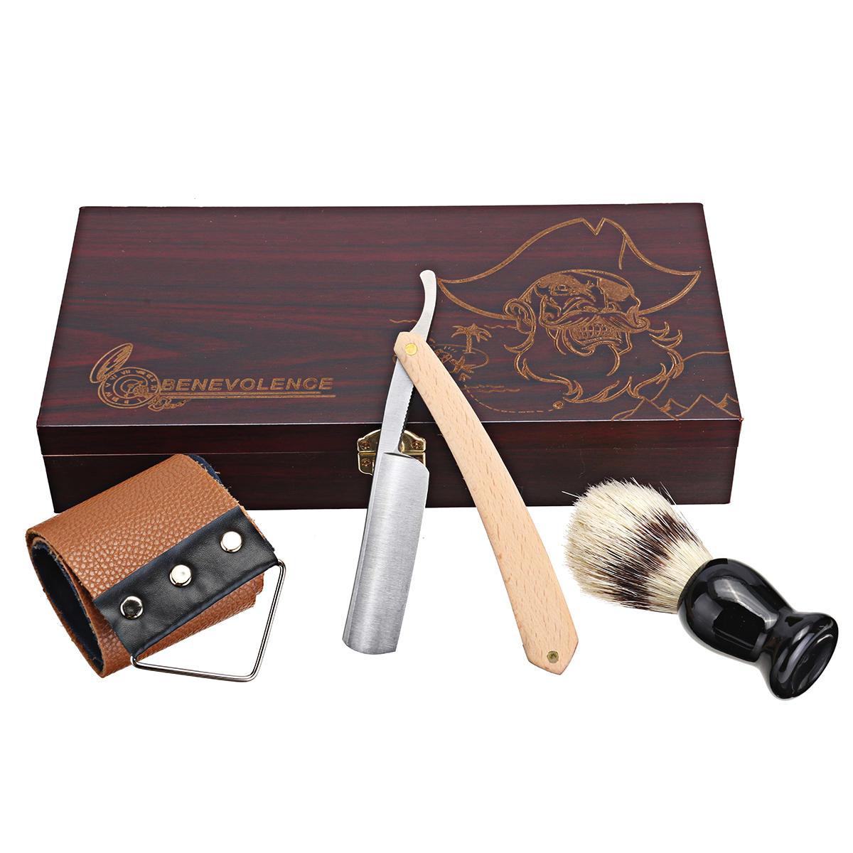 4 Piece Manual Hair Shaver Set