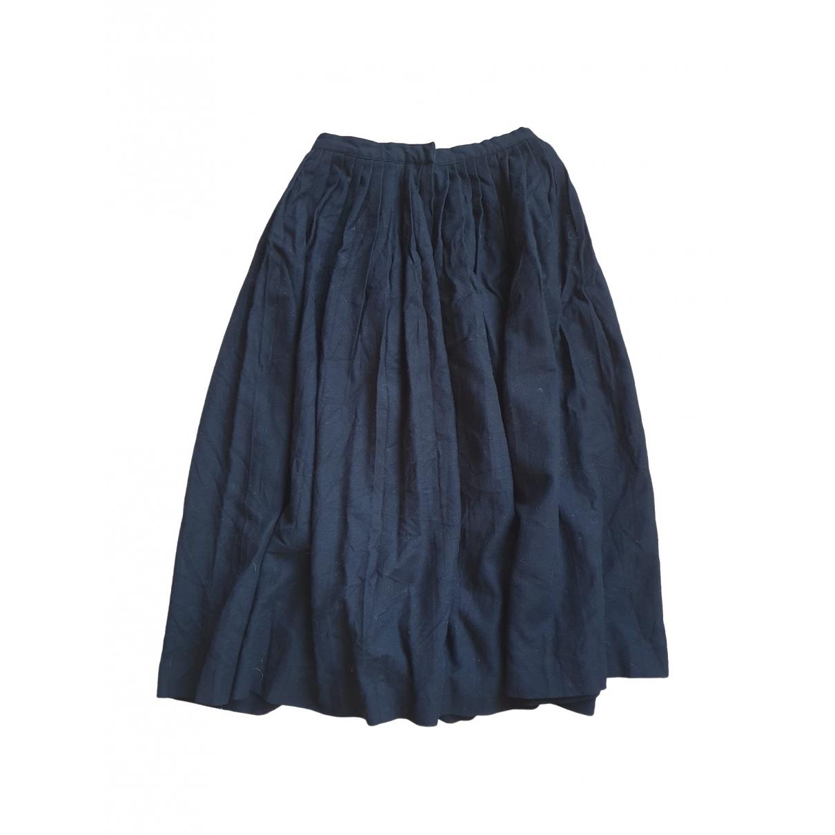 Dior \N Black Wool skirt for Women 38 FR