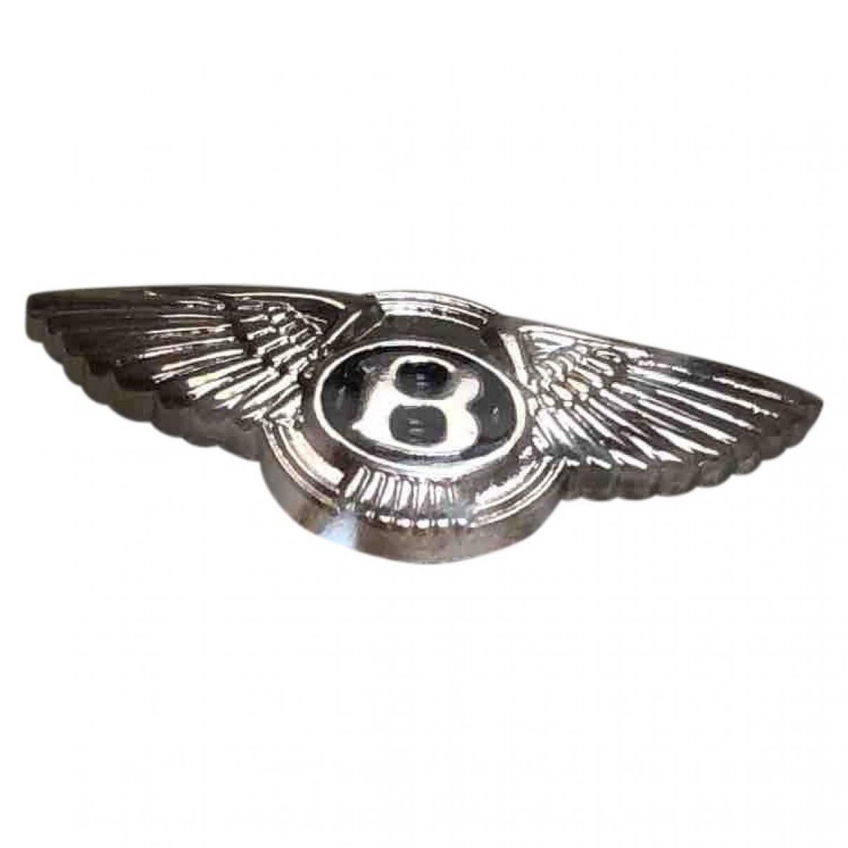 Bentley \N Silver Steel Jewellery for Men \N