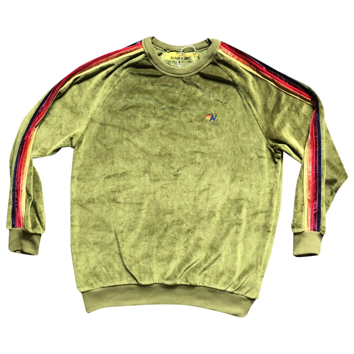 Aviator Nation \N Green Cotton Knitwear & Sweatshirts for Men XL International