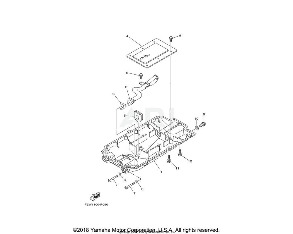Yamaha OEM 6S5-15486-10-00 GROMMET