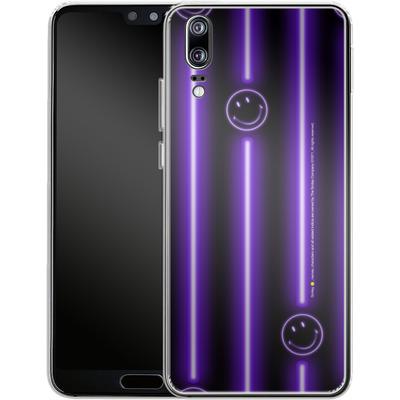 Huawei P20 Silikon Handyhuelle - Electro Nights von Smiley®
