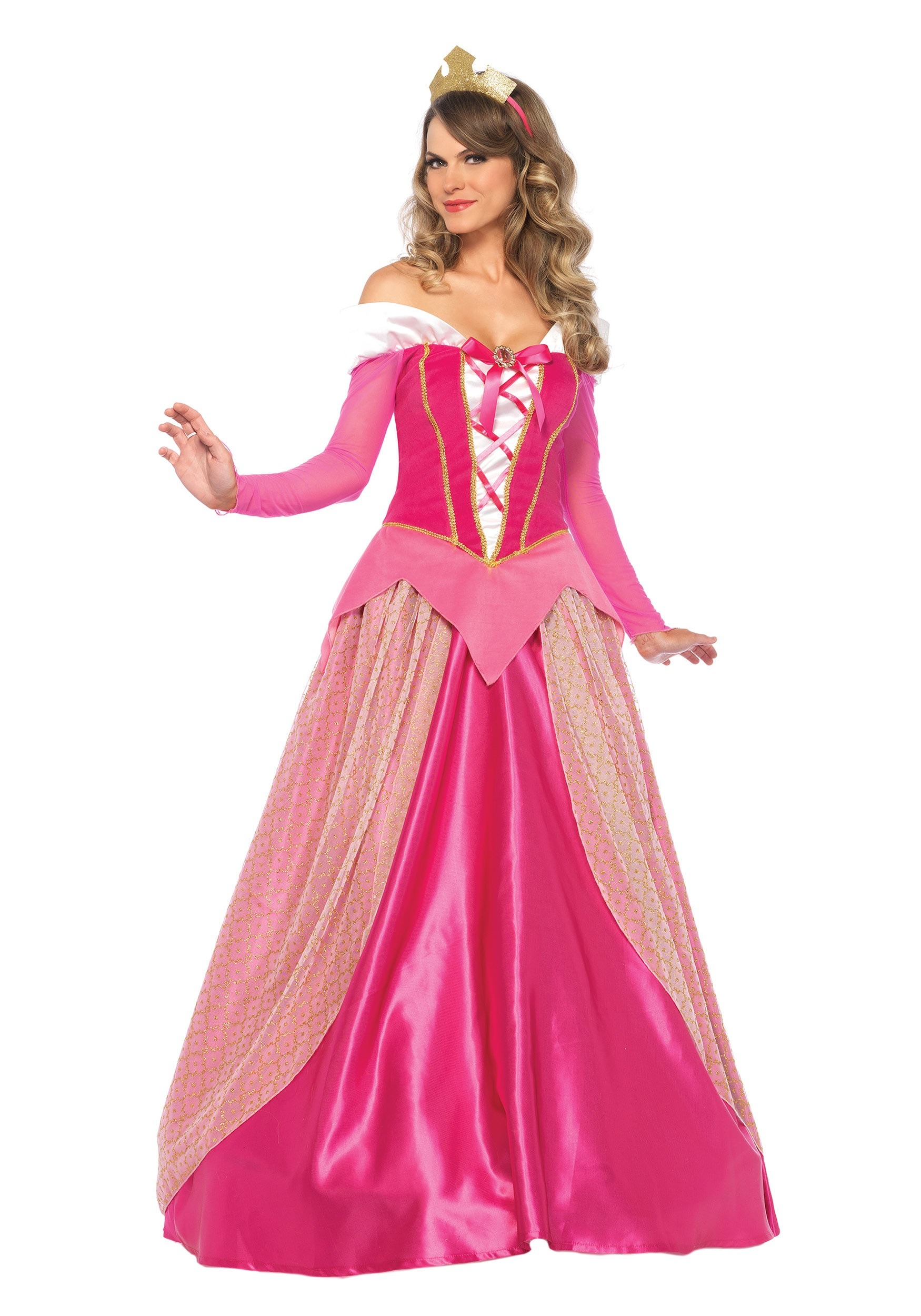 Princess Aurora Womens Costume