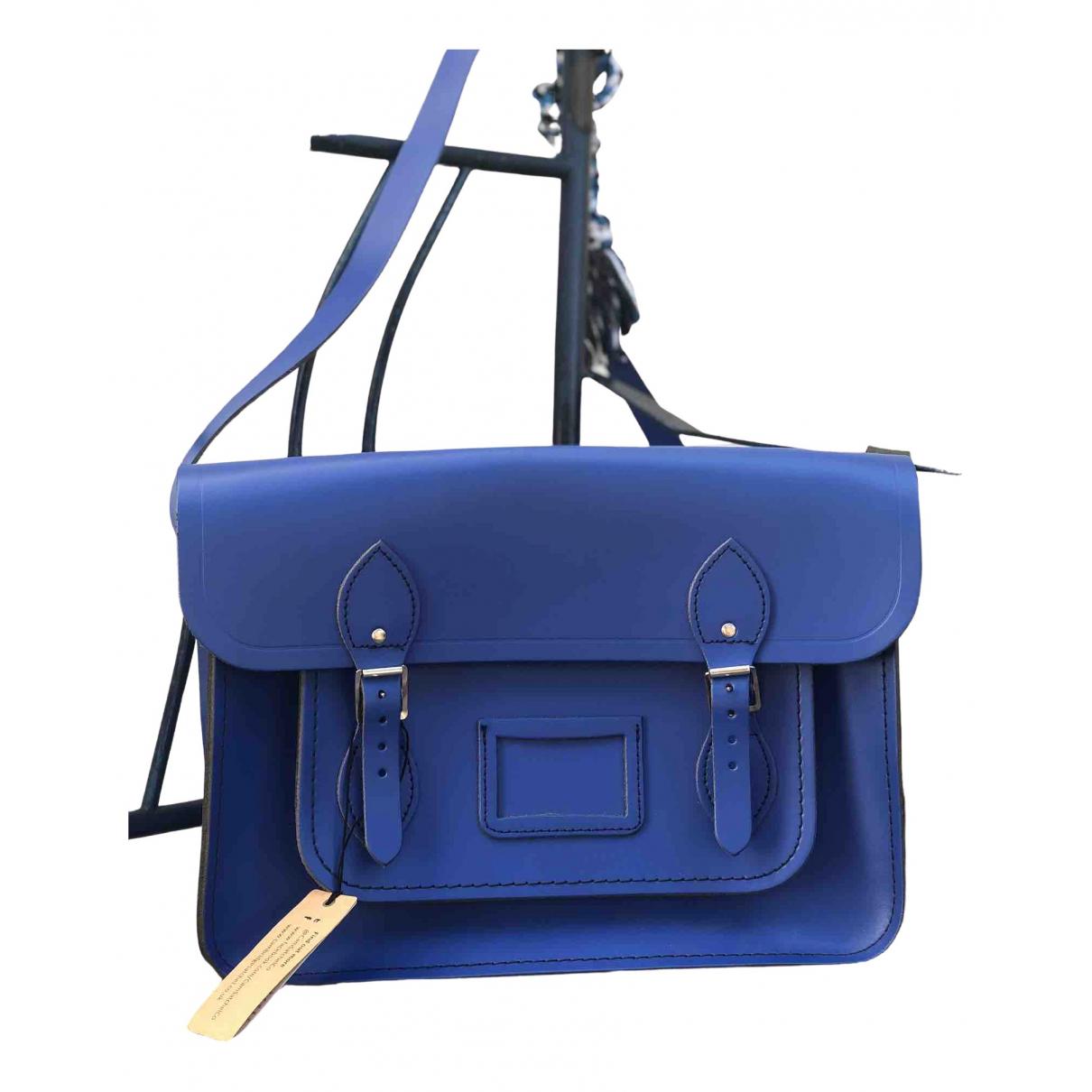 Cambridge Satchel Company N Blue Leather handbag for Women N