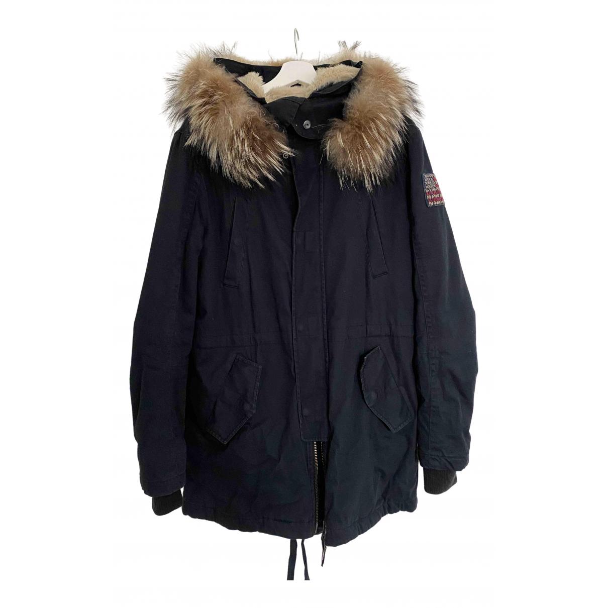 True Religion - Manteau   pour homme en coton - bleu