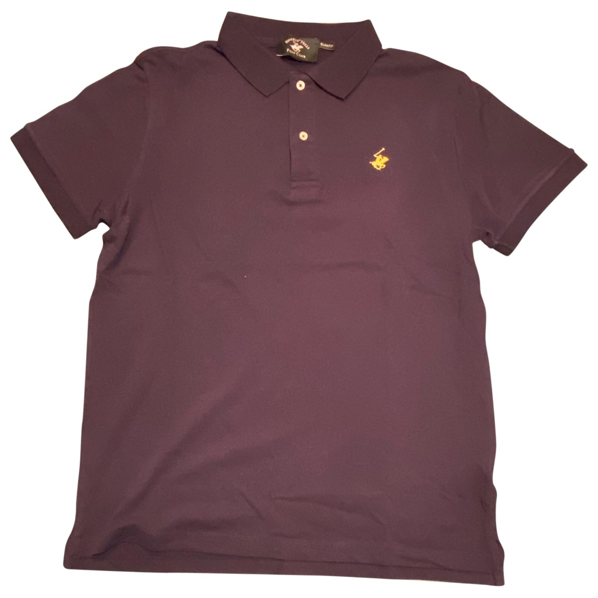 Non Signé / Unsigned \N Blue Cotton Polo shirts for Men M International