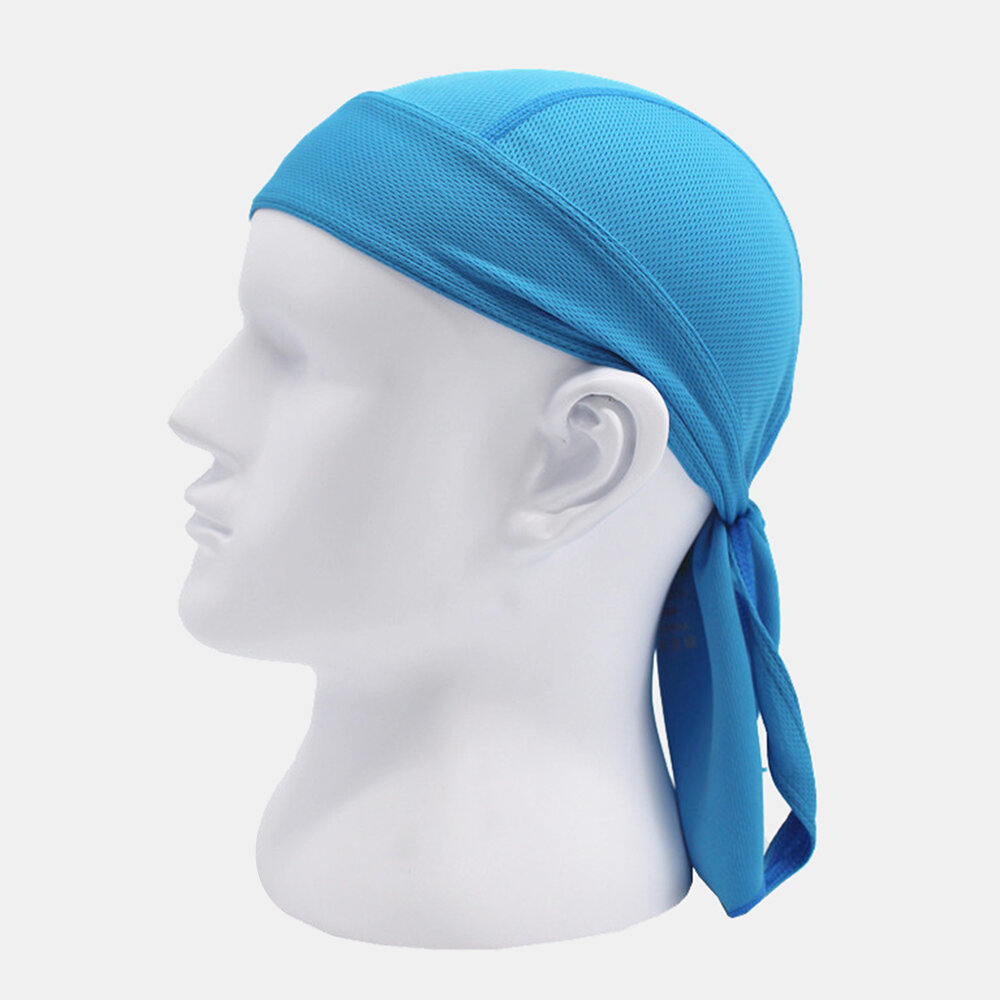 Quick-drying Turban Perspiration Breathable Sunscreen Outdoor Riding Pirate Hat
