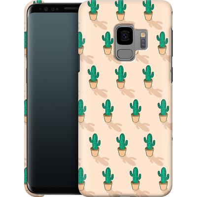Samsung Galaxy S9 Smartphone Huelle - Cactus Pot von caseable Designs