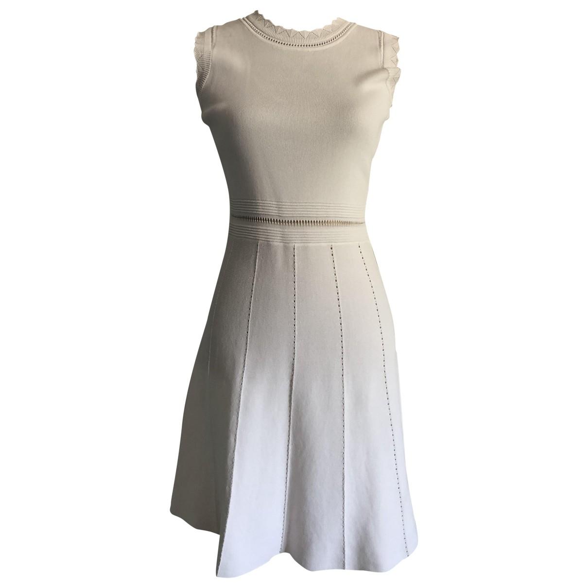 Zara - Robe   pour femme - blanc