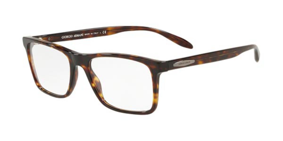 Giorgio Armani AR7163 5026 Men's Glasses Tortoise Size 53 - Free Lenses - HSA/FSA Insurance - Blue Light Block Available