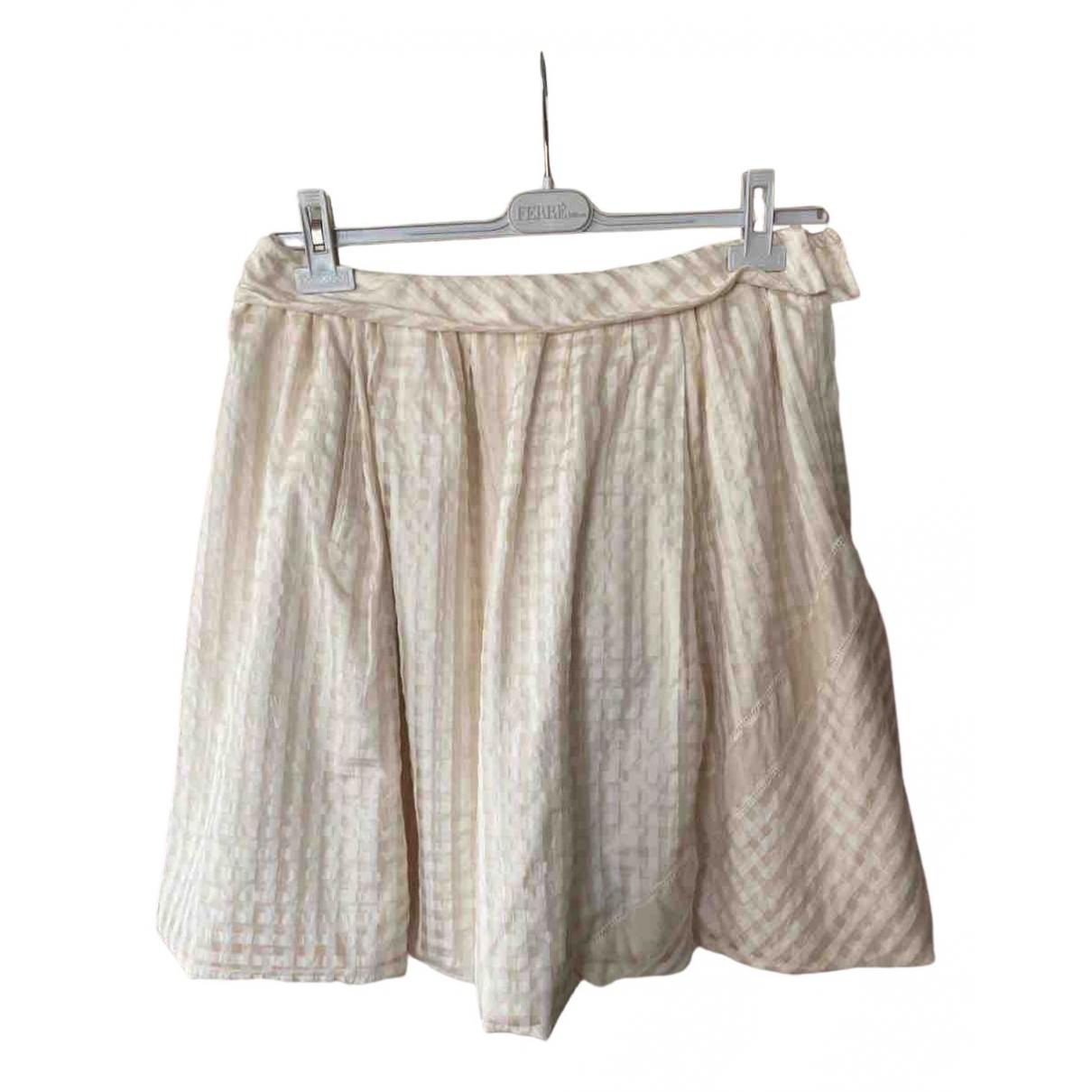 Louis Vuitton - Jupe   pour femme - beige