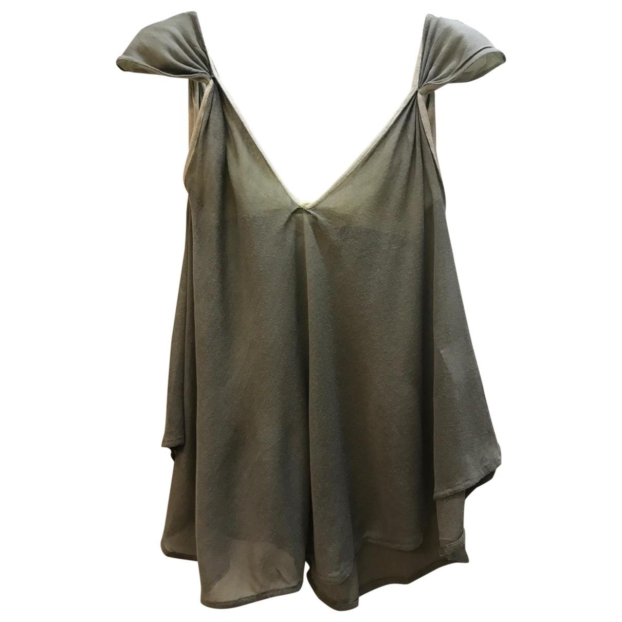 Stella Mccartney \N Green Cotton  top for Women 42 IT
