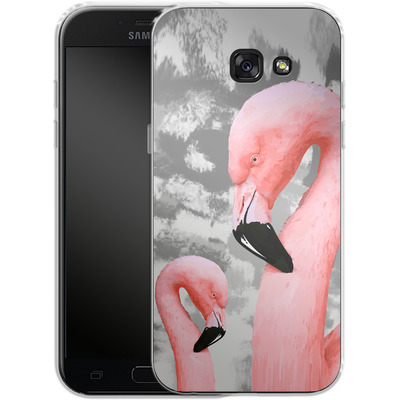 Samsung Galaxy A5 (2017) Silikon Handyhuelle - Flamingo Grey von Mukta Lata Barua