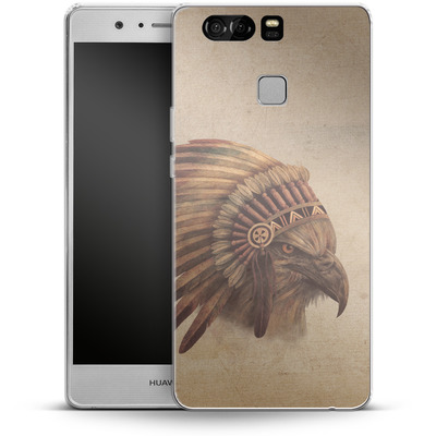 Huawei P9 Silikon Handyhuelle - Eagle Chief von Terry Fan