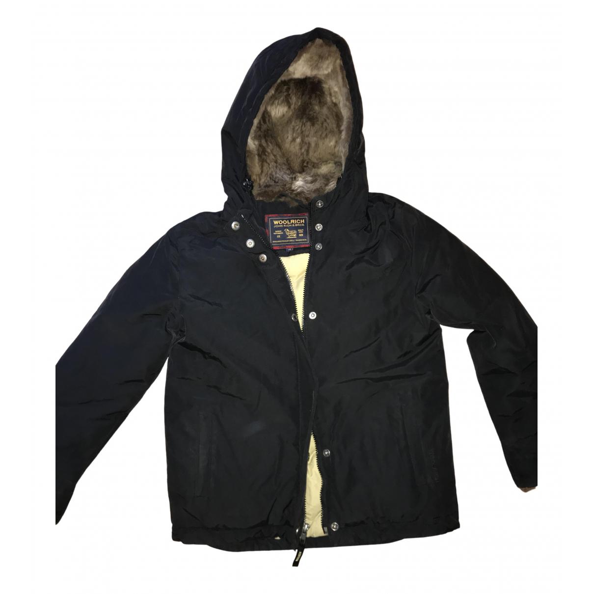 Woolrich - Blousons.Manteaux   pour enfant en lapin - noir
