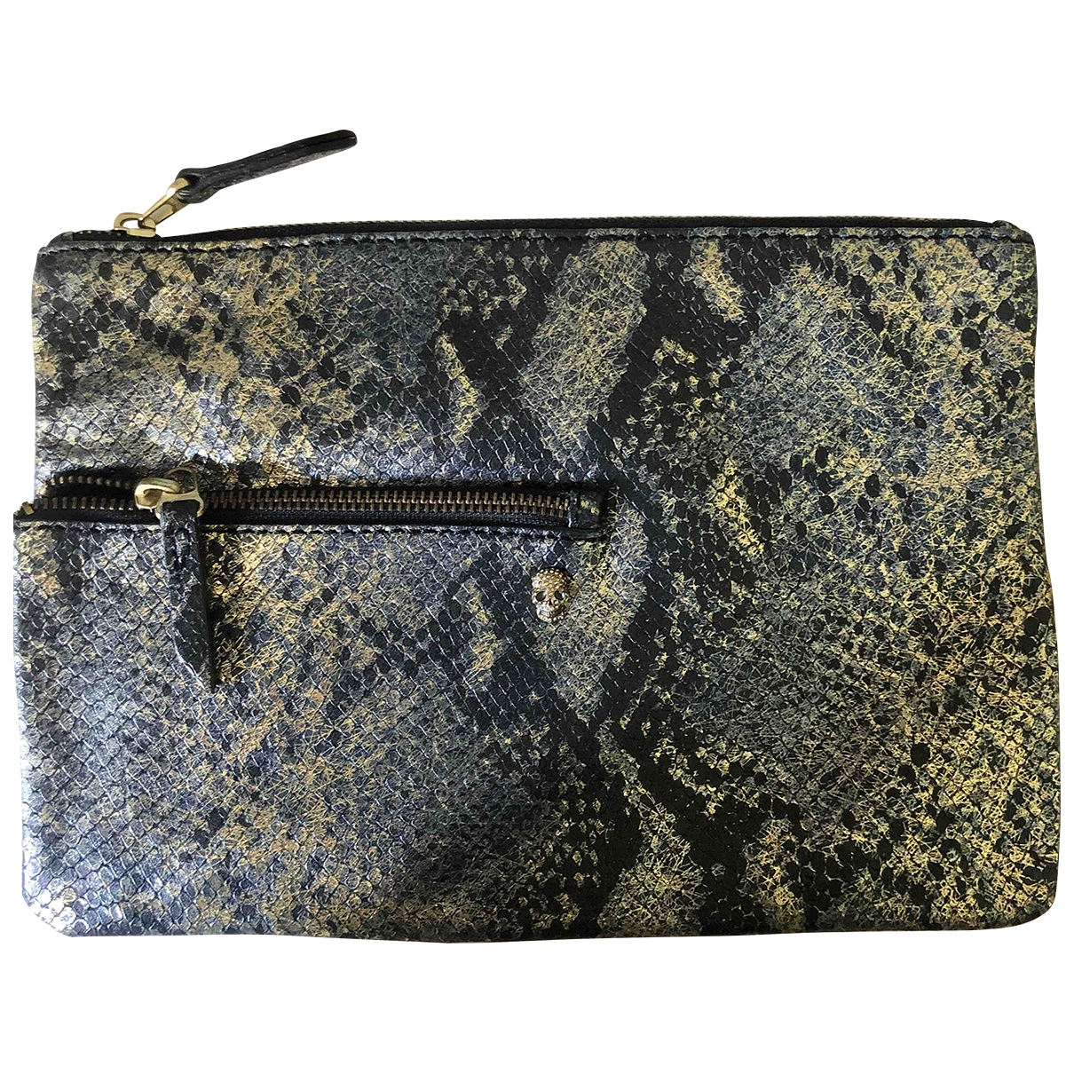 Zadig & Voltaire \N Multicolour Leather Clutch bag for Women \N