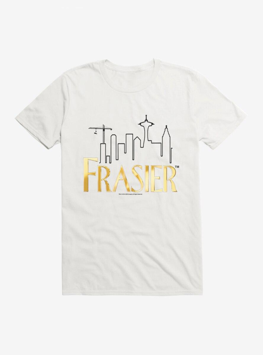 Frasier Gold Logo Outline T-Shirt