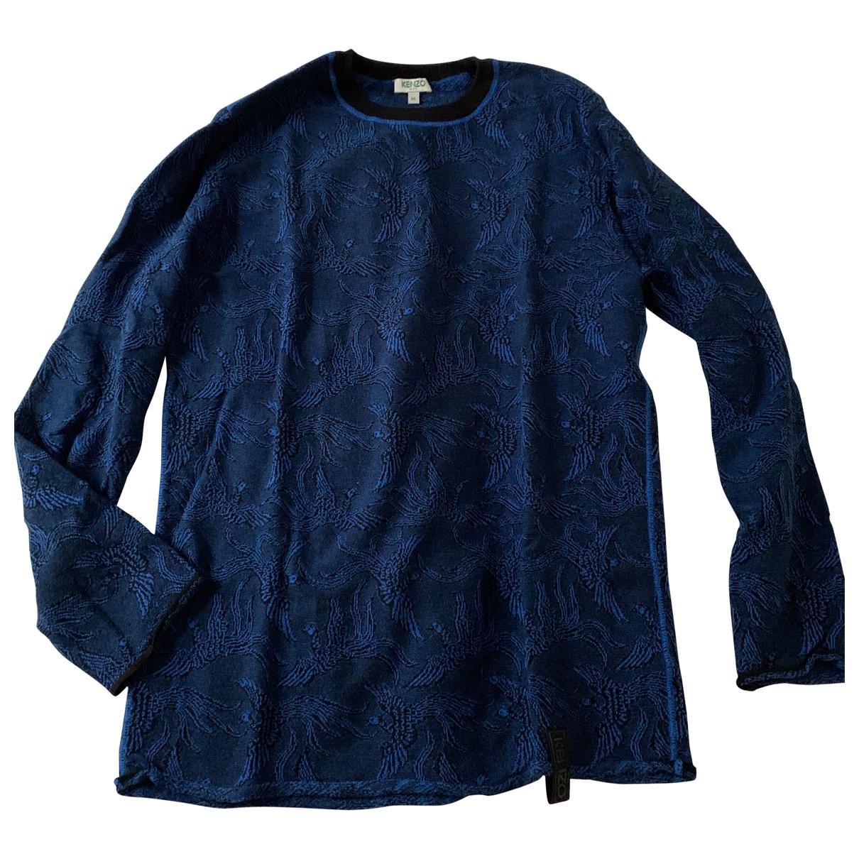 Kenzo \N Pullover.Westen.Sweatshirts  in  Marine Viskose
