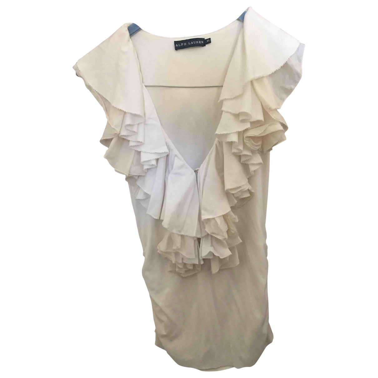 Ralph Lauren \N White Cotton  top for Women XS International