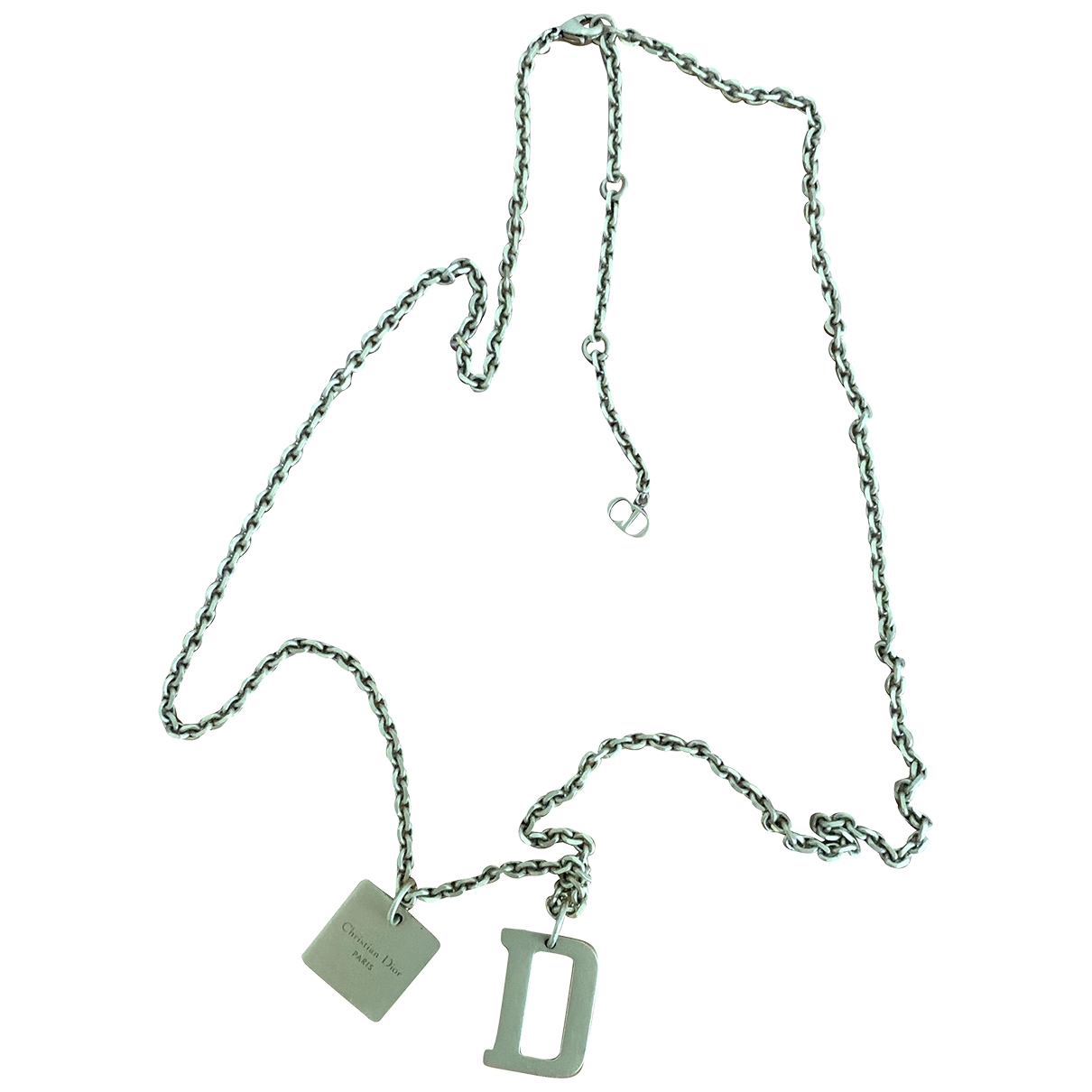 Christian Dior - Collier   pour femme en metal - dore