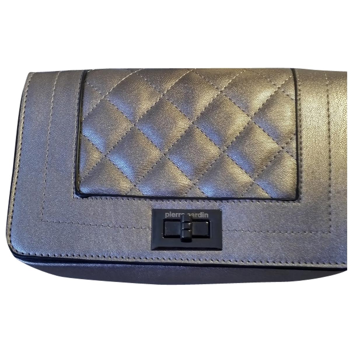 Pierre Cardin \N Silver Leather handbag for Women \N
