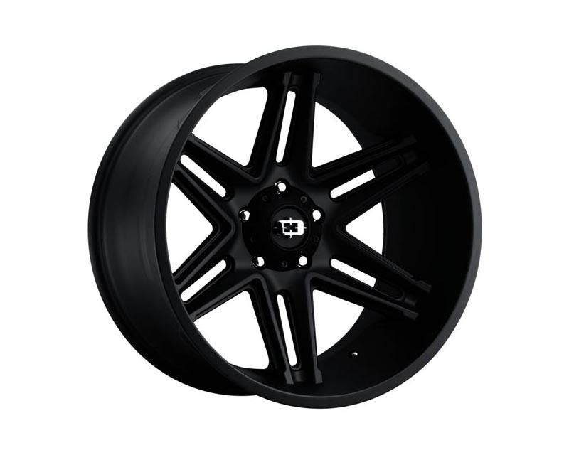 Vision Wheels 363-22270SB-51 Razor Wheel 22x12 8x1700x51 BKMTXX Satin Black
