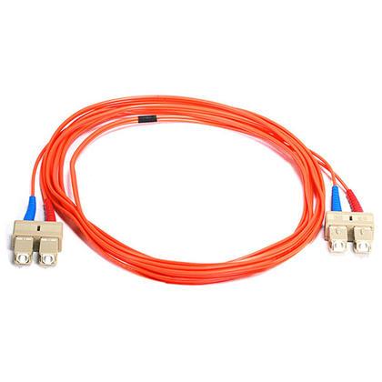 Câble fibre optique, OM1 SC/SC, multi mode, duplex (type 62.5/125) - orange - Monoprice® - 3m