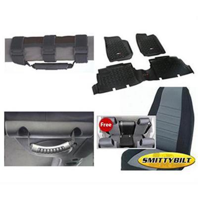 Genuine Packages Interior Pack (Black/Gray) - 074DBGACC