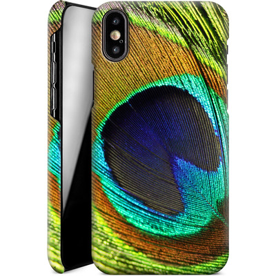 Apple iPhone XS Smartphone Huelle - Peacock von Mark Ashkenazi