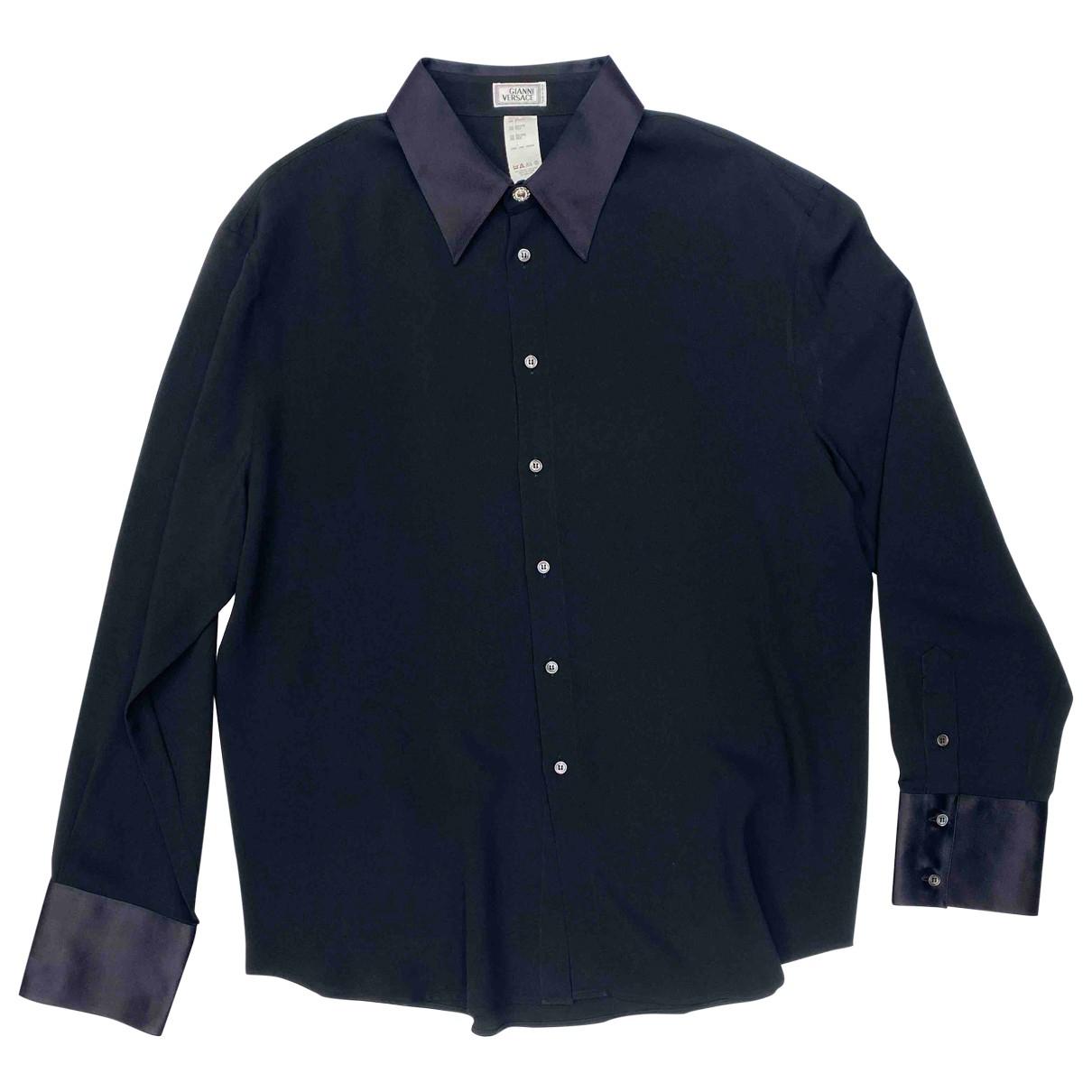 Gianni Versace N Black Shirts for Men XXL International