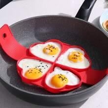 1 Stueck Herz Omelette Form mit 4 Gitter