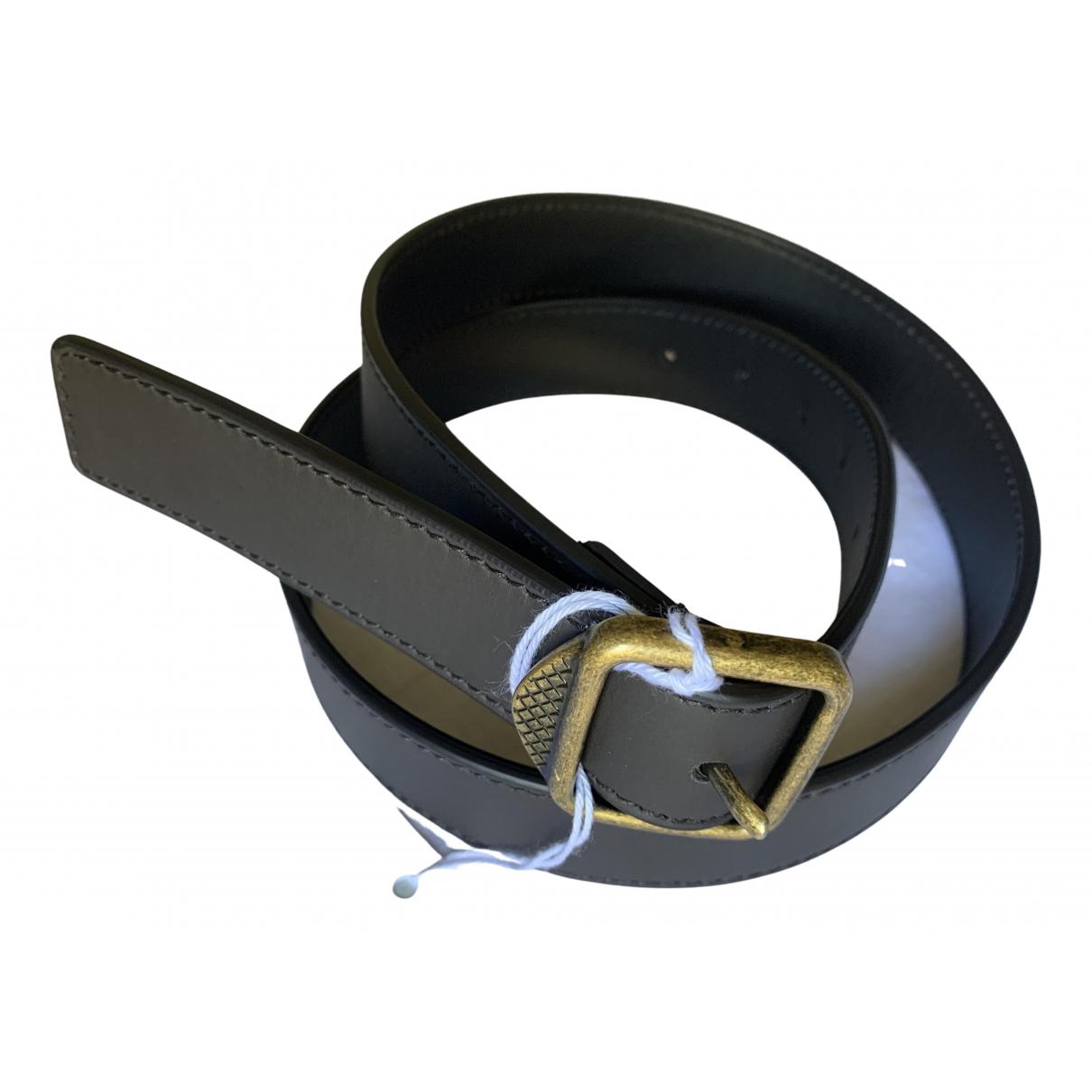 Bottega Veneta \N Brown Leather belt for Men 90 cm
