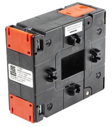 RS PRO Base Mounted Current Transformer, , 33 x 23mm diameter , 150A Input, 5 A Output, 150:5
