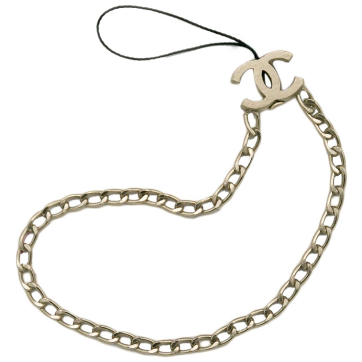 Chanel CC Taschenschmuck in Metall