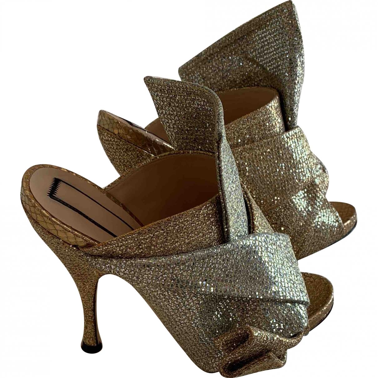 N°21 \N Multicolour Leather Sandals for Women 35 EU