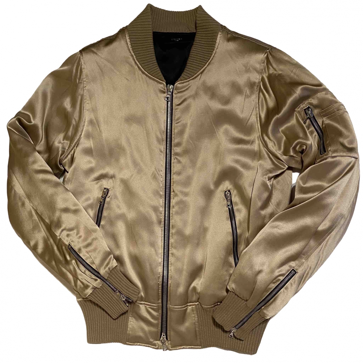 Amiri \N Gold Silk jacket  for Men L International