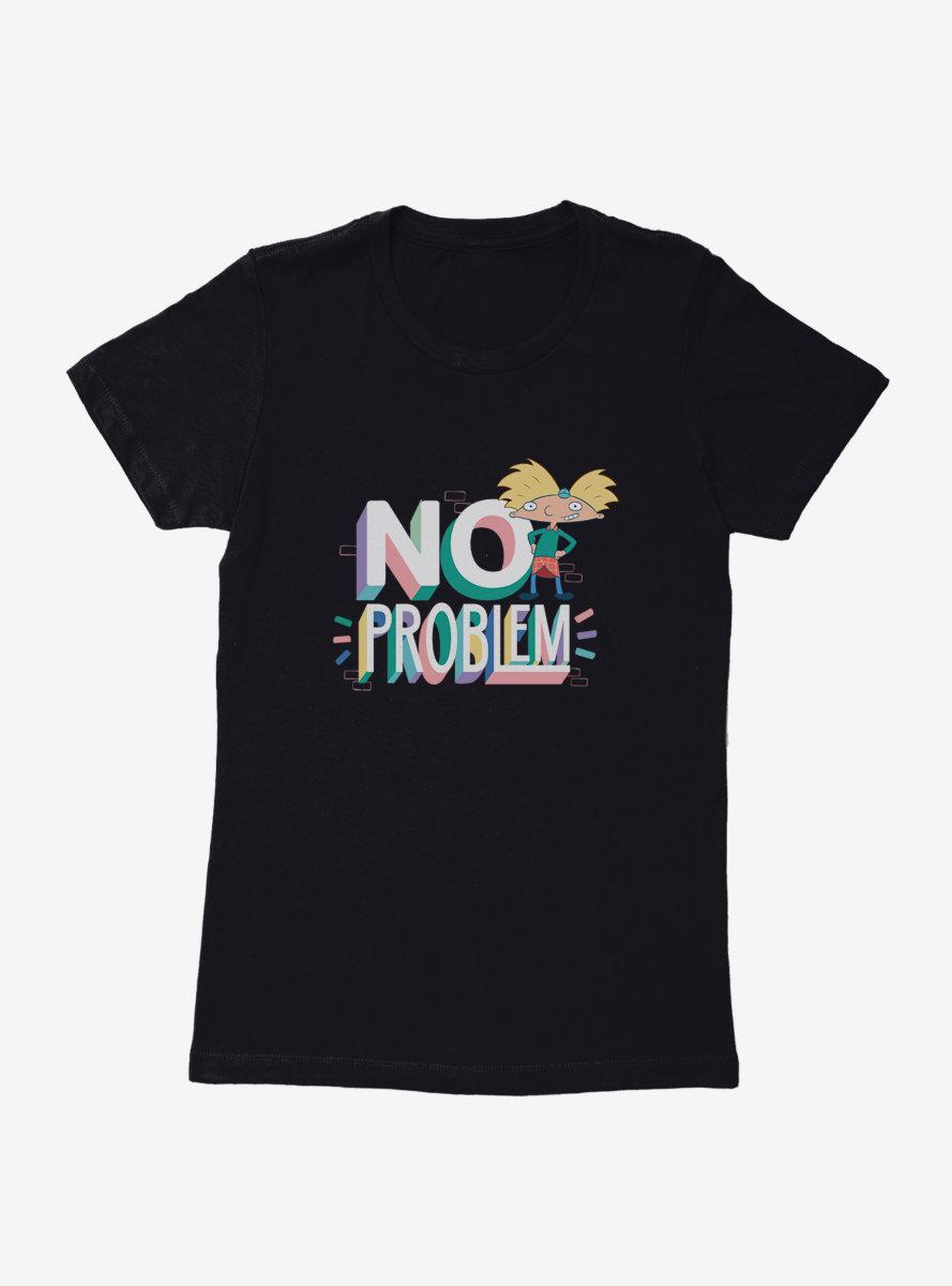Hey Arnold! No Problem Womens T-Shirt