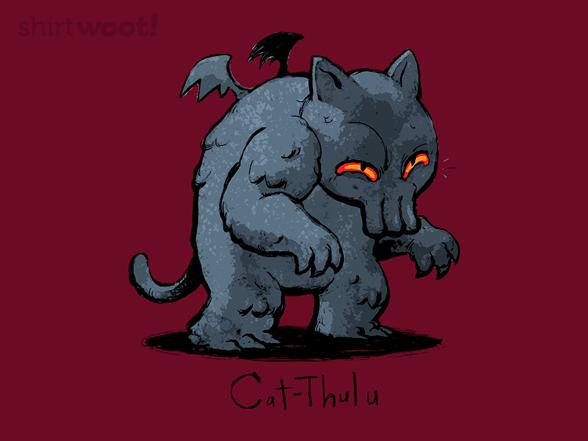 Catthulu T Shirt