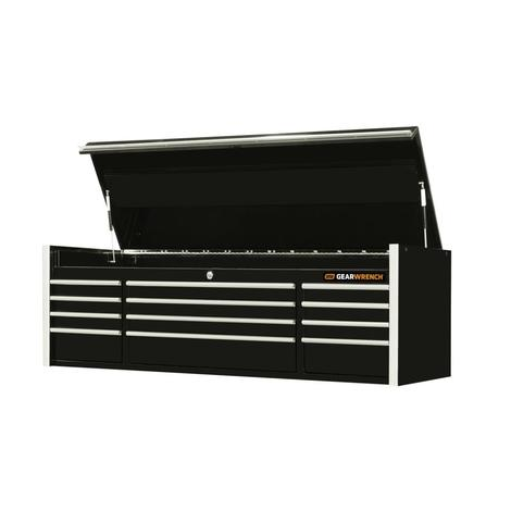 GearWrench Top Chest, 72 In. 12-Drawer Extreme Tools® Series, Black & Chrome