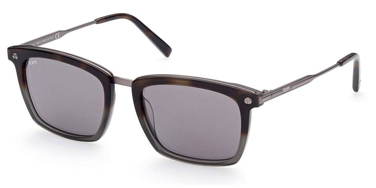 TODS TO0296 56C Mens Sunglasses Tortoise Size 54