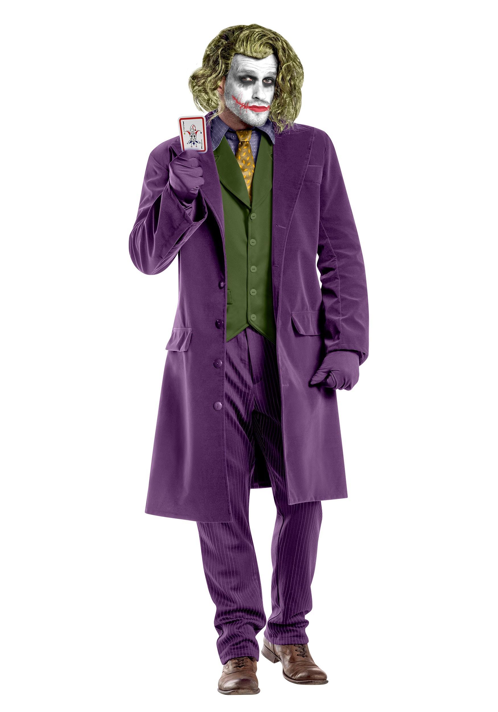 Men's Dark Knight Joker Costume