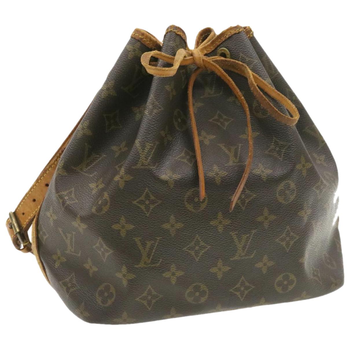 Bolso Petit Noe trunk de Lona Louis Vuitton