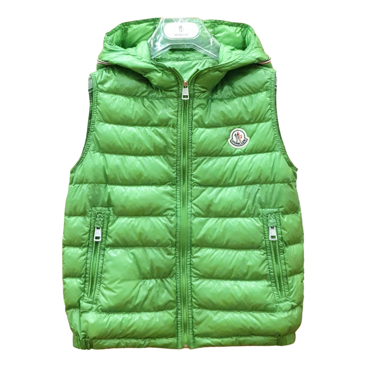 Moncler Sleeveless Green jacket & coat for Kids 10 years - up to 142cm FR