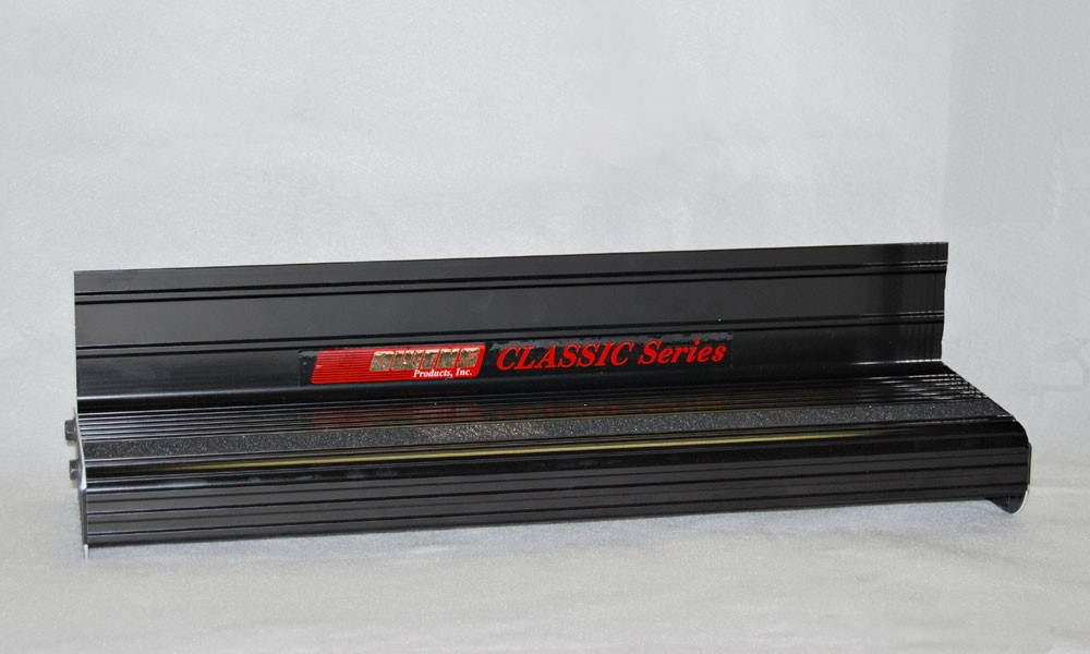 Owens Products OC74106B Running Boards Classic Series Extruded 4 Inch Black Aluminum 106 Inch