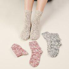3 Paare Bunte Socken
