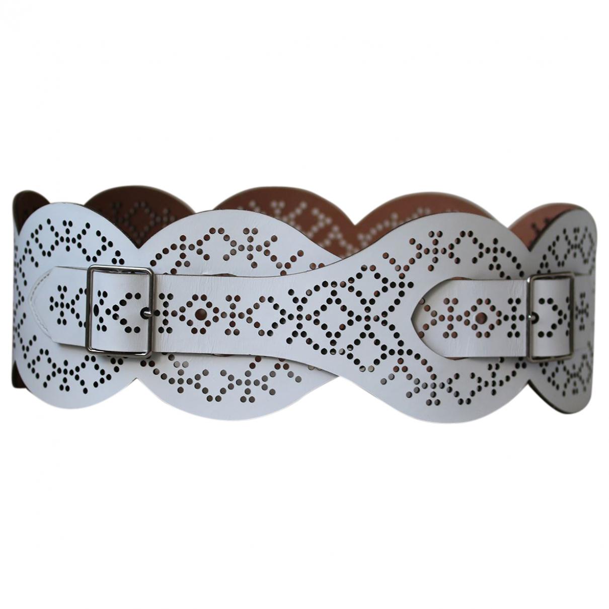 Cinturon de Cuero Alaia